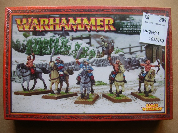 kislev - Kislev Horse Archers & Kislev Winged Lancers x 2 boxes each DSCN7536