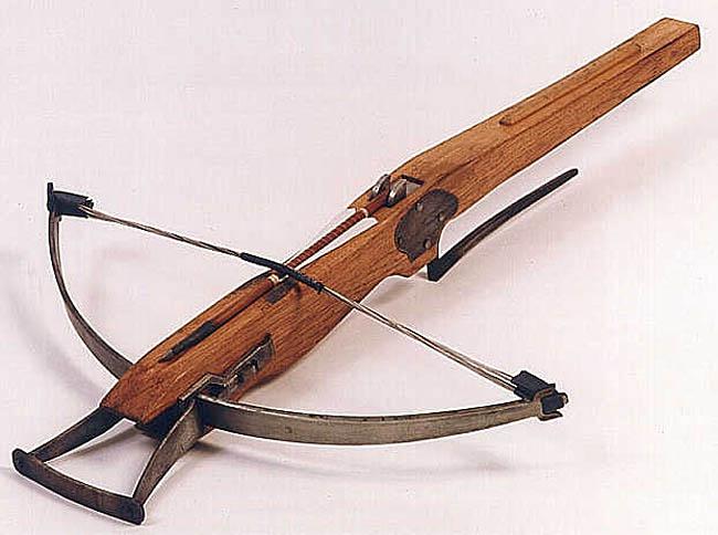 Exemples d'armes  Arbalete