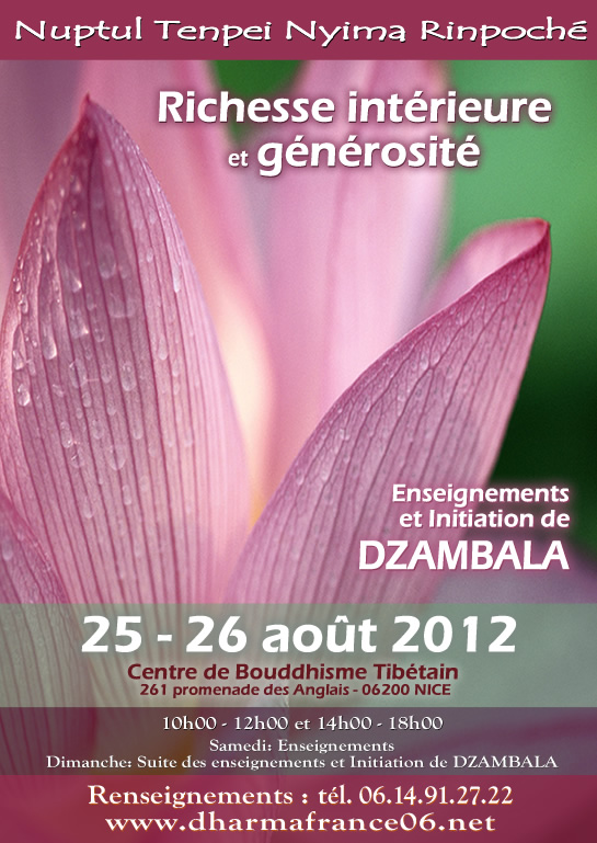 24 août 2012 - Nuptul Rinpoché (Mougins - France) Nice2blog