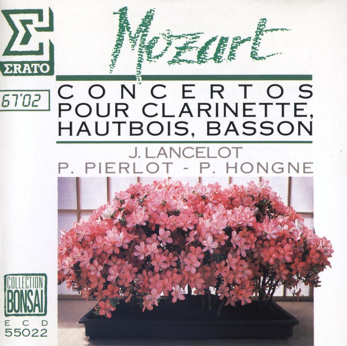 Concierto para clarinete  - Mozart - Página 2 Front