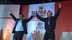 """Grecia La bancarrota (una mas) de la """"socialdemocracia"""" y los errores de la izquierda europea [Recopilacion de Articulos] - Página 4 Syriza%2By%2BPodemos"""