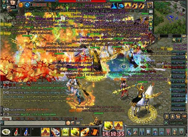 Làng game Việt dậy sóng với phiên bản Kiếm Thế 17 phái đầu tiên tại Việt Nam 5