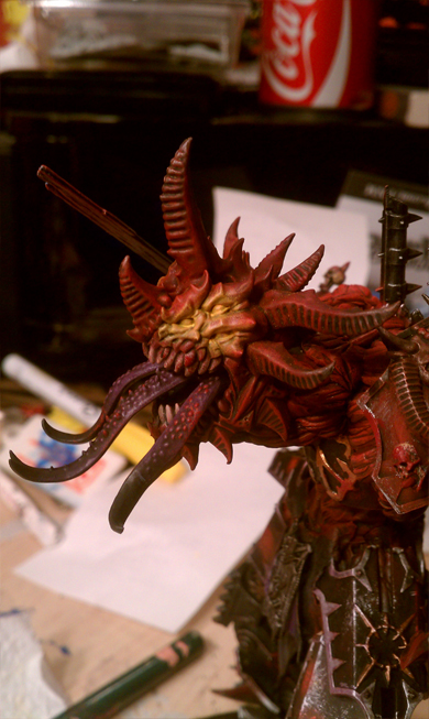 Another conversion, a Bipedal Soul Grinder! B