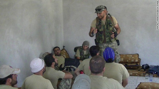 Attention: Possible attaque sous fausse bannière (OTAN-FSA) en Syrie Libyan_Terrorists_In_Syria