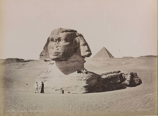 Sphinx is much older than the Pyramids!  Sphinx_OldPic