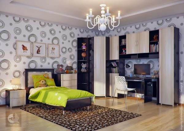 غرف نوم أطفال بألوان وتصميمات جميلة 18-Neutral-kids-room-600x427