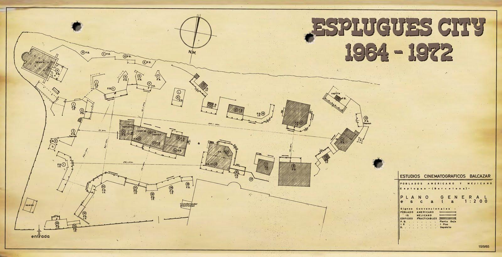 ESPLUGAS CITY (Studios Balcazar), Barcelone.  Plano%2BEsplugues%2BCity