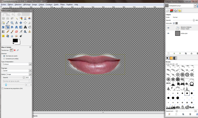 [Intermédiaire] Créer un rouge à lèvres Tuto07