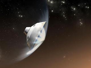 """El """"Curiosity"""" capta extraños objetos voladores en Marte Curiosity.%2Bin%2BMars"""