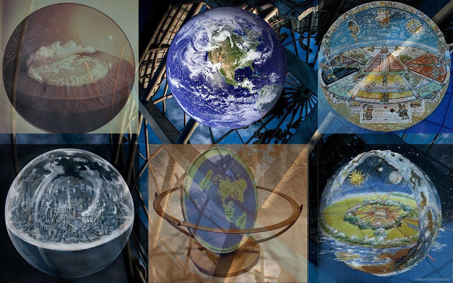 Globe or Flat: Distractions of Theories  Flat%2Bearth