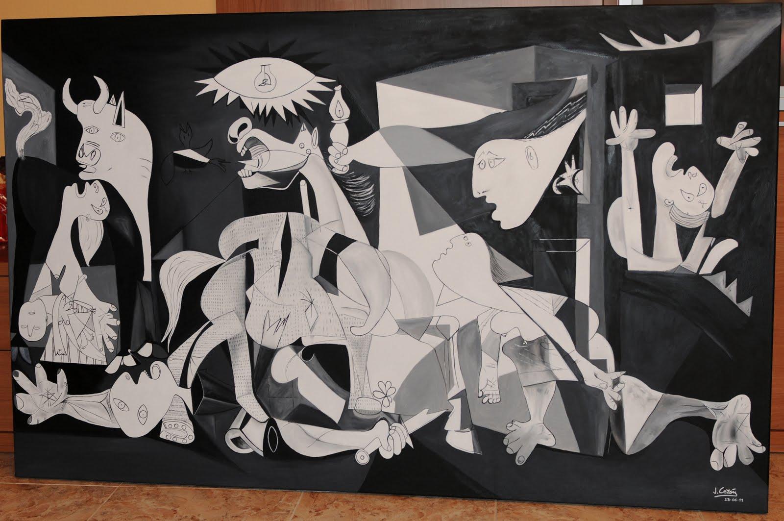 DE L'ART ...OU DU COCHON ? - Page 6 Guernica_2028