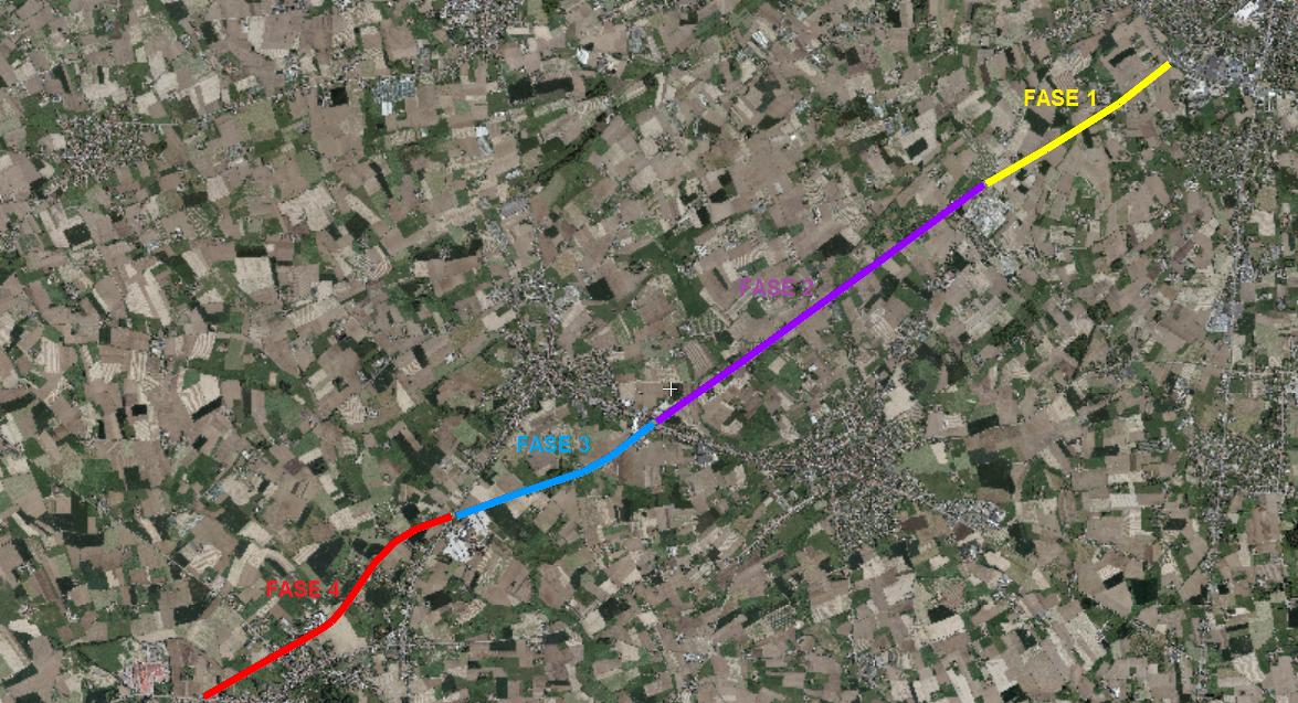 L064 Stroroute Pour discuter des travaux L64 Stroroute: Roeselare – Zonnebeke (L64) (Fietssnelweg 37) Stroroute2