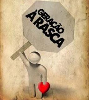 Geração à Rasca com 56 mil inscritos no Facebook Geracao