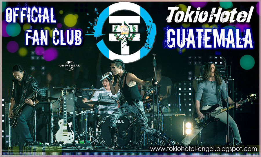 Official Fans Club tokio Hotel Guatemala Thgt0102