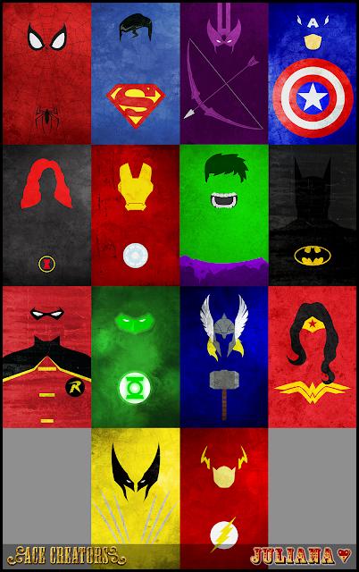 Minimalist Superhero Posters by Juliana Untitled-2