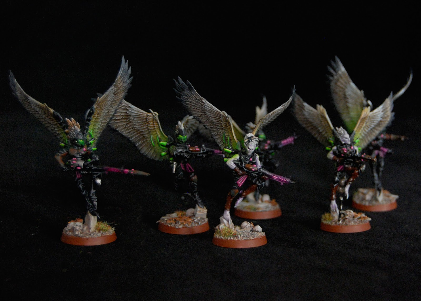 EOE's Dark Eldar Painting Tutorials  Birdwing_Scourges_02