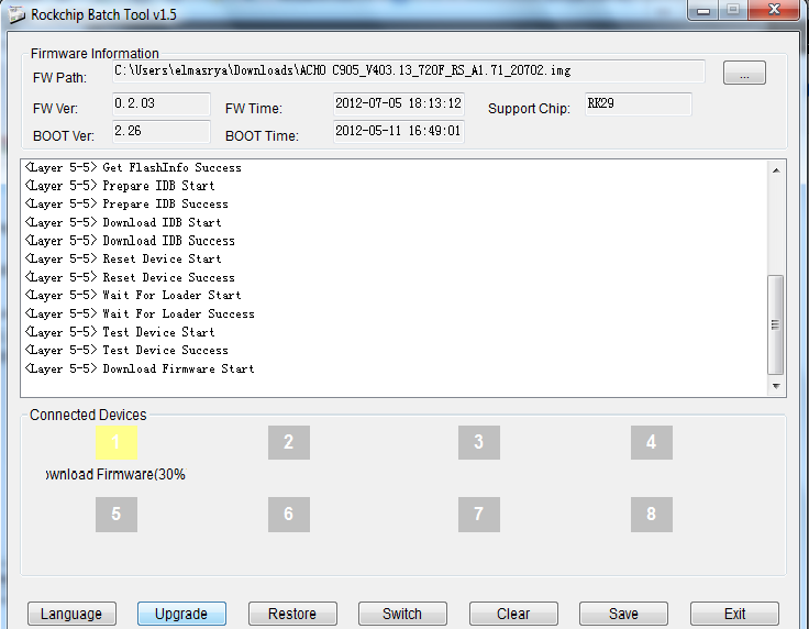 ACHO-C905 firmware+update tool Untitled