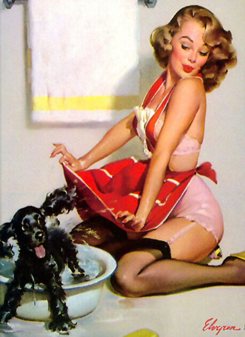 PIN-UP A_fair_shake_1960