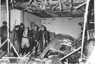 Sala de Conferencias tras el atentado
