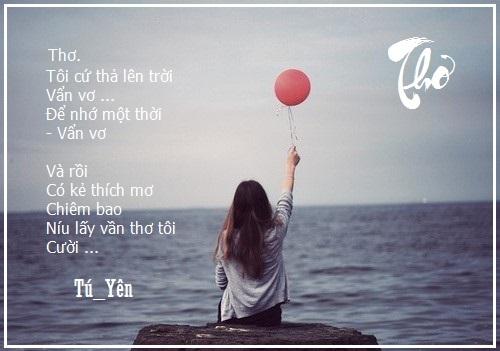 Giảm Stress bằng thơ Vvui
