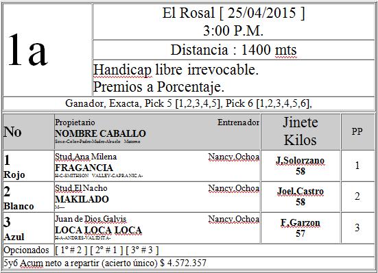 Hipica en Colombia y alrededores - Página 2 Rosal.1