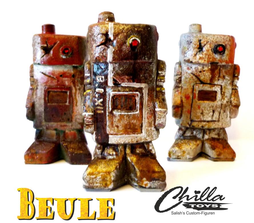 Salish Figuren Beule-promo