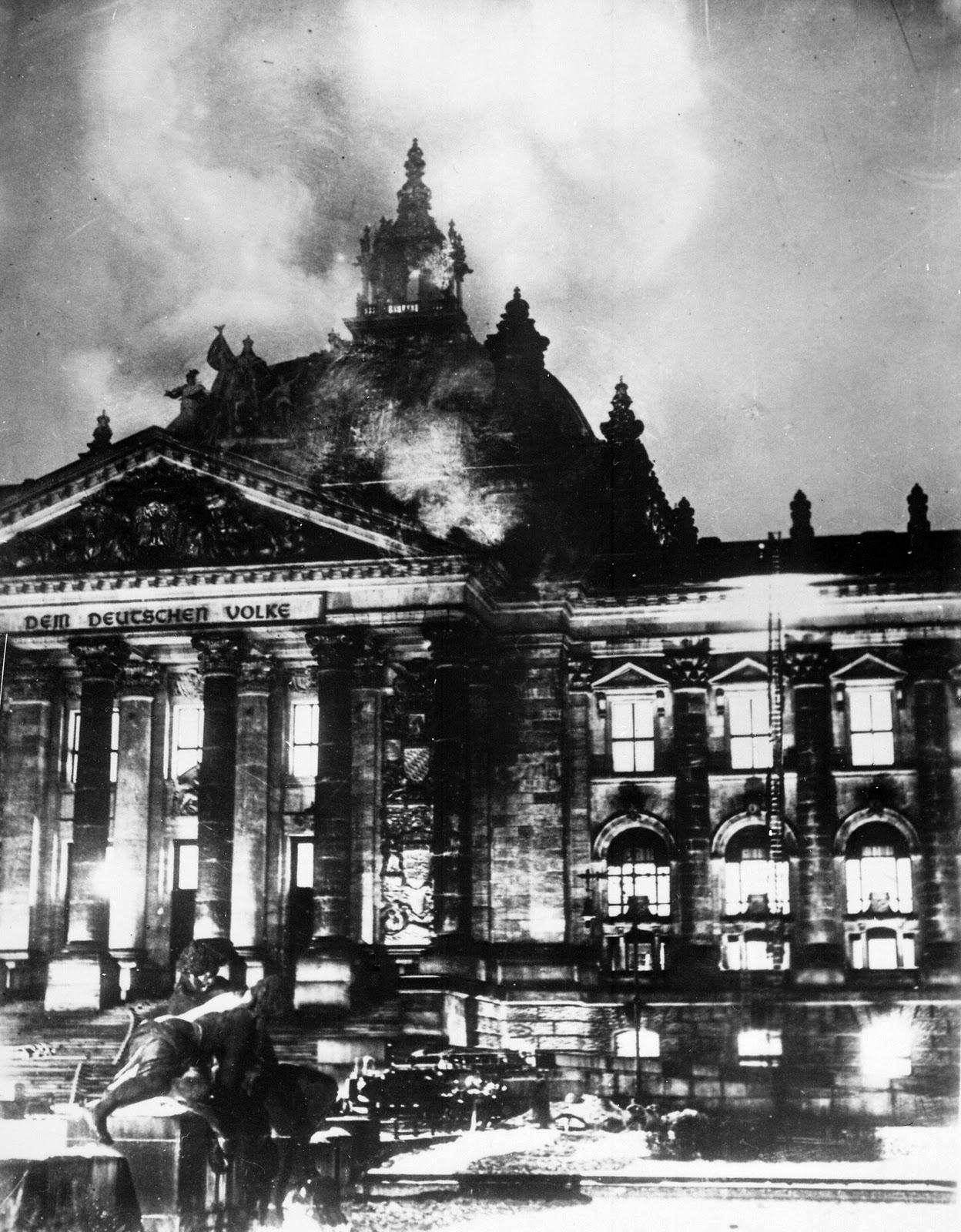 Elecciones 2013 Reichstagsbrand