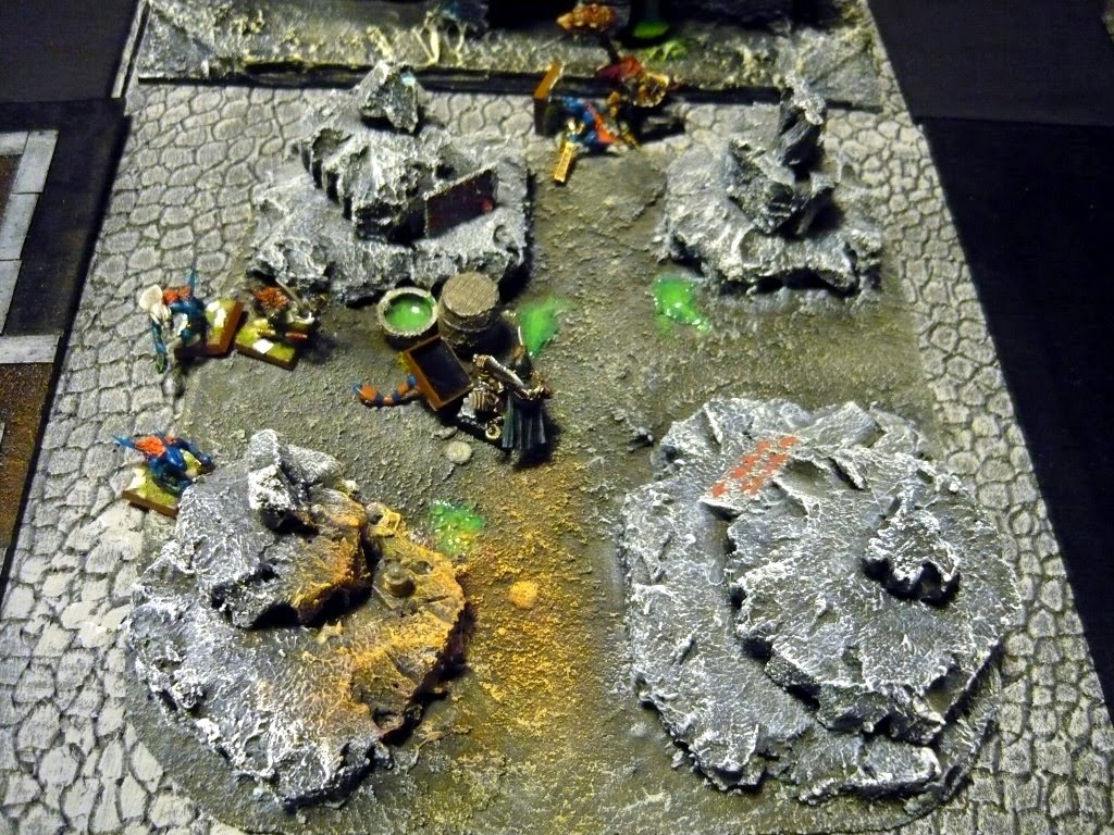 Testing Karak Zorn - first battle in the dungeons P1050557