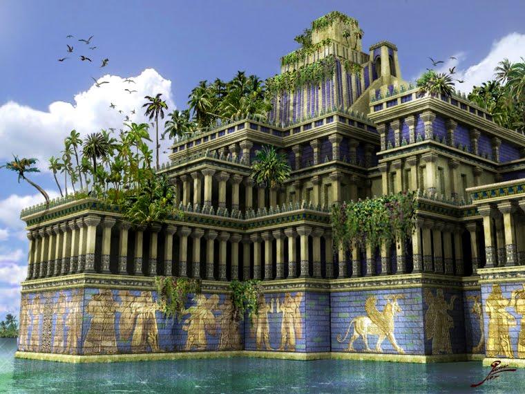 LOS JARDINES DE BABILONIA  Jardines-colgantes-babilonia0