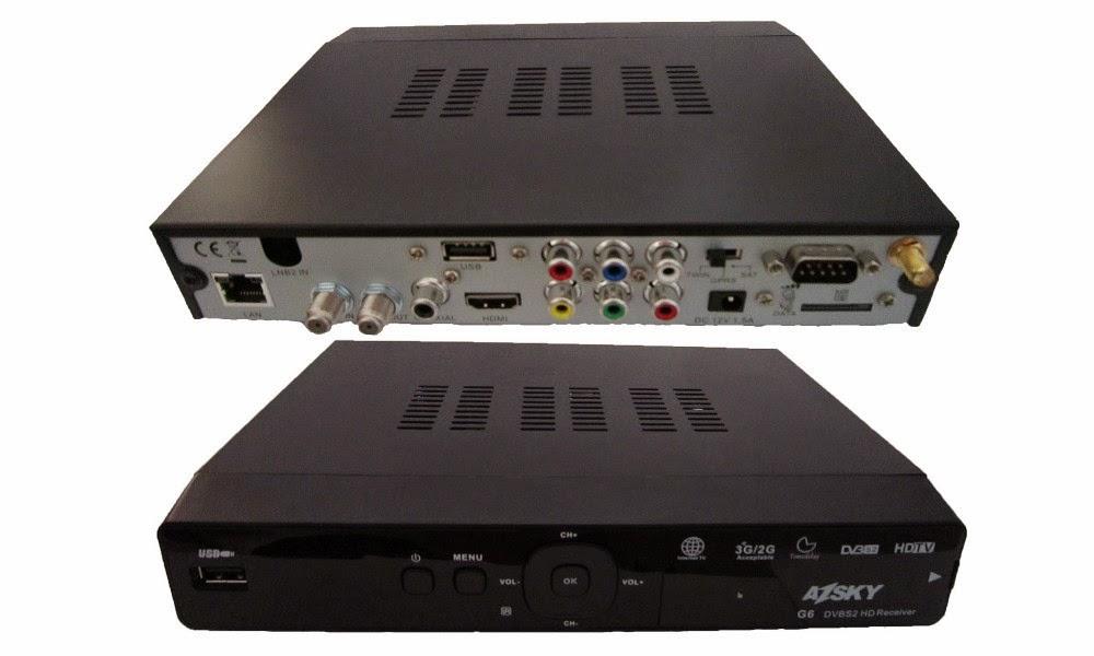 Vem ai Mais um  lançamento da  Marca Azsky. Conheça o novo Azsky G6  Iptv HD. 799943062_079
