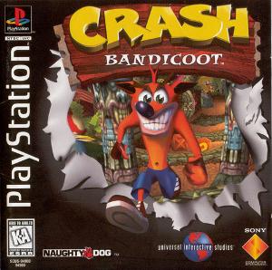 ToriJ's Video Game Review: Crash Bandicoot Crash_Bandicoot_Cover