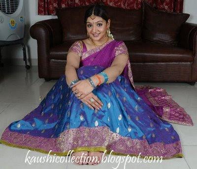 ராகவனுக்காக அவர் அண்ணன் பார்த்த பெண்...! - Page 2 Arthi-Agarwal-Half-Saree