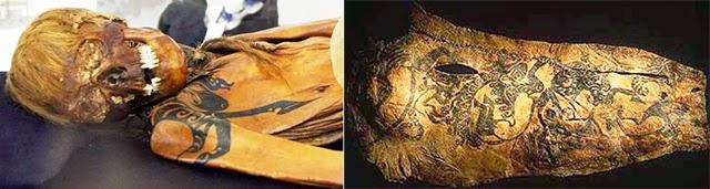 Caucasians Around The Ancient World   Scythian_mummy_03