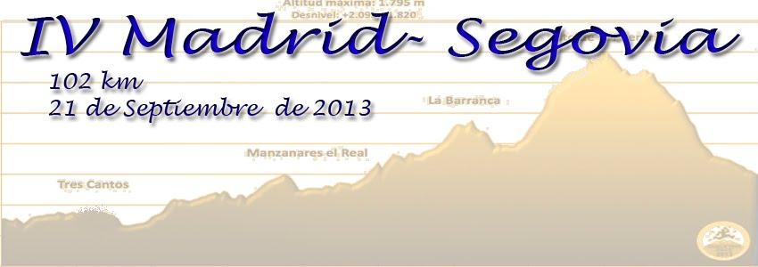 Madrid-Segovia: 100km/24h: 21-22 septembre 2013 Portada%2B2013
