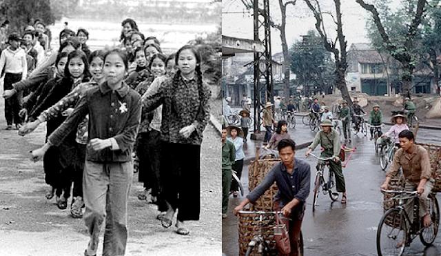 không - 42 tháng Tư và cuộc chiến không bom đạn Hanoi004a