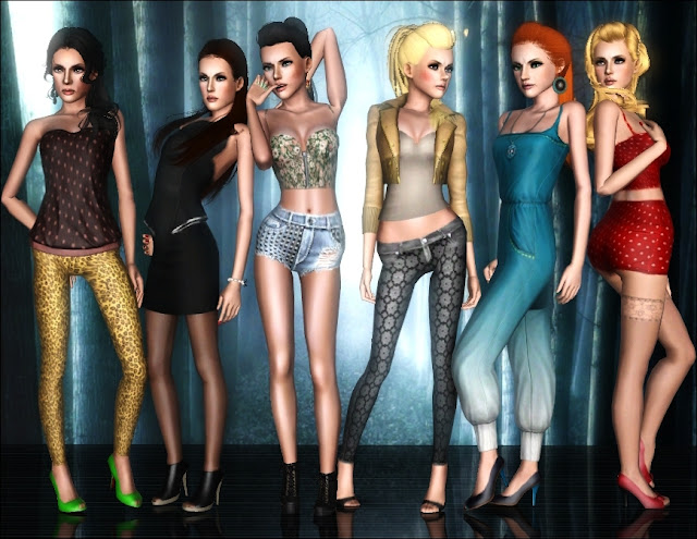 New Pose Pack by Blakc Screenshot-337