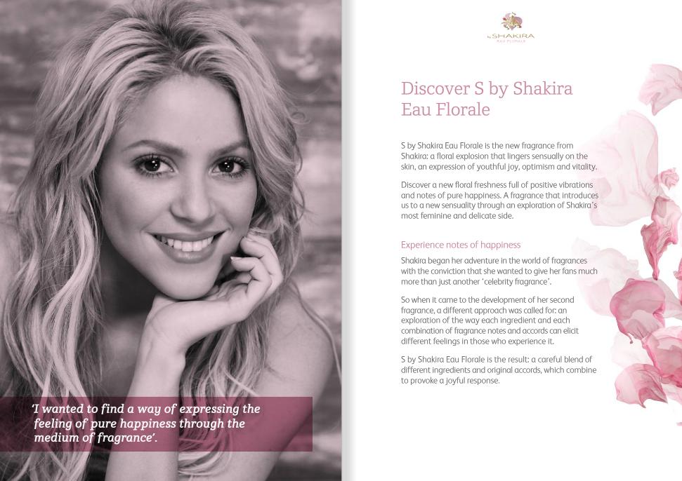 Fragancias de Shakira » Nueva: Love Rock! SM1