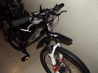 Presento los cambios que han dado lugar a la nueva bici que he montado sobre el 9C de 3,5 kW 3