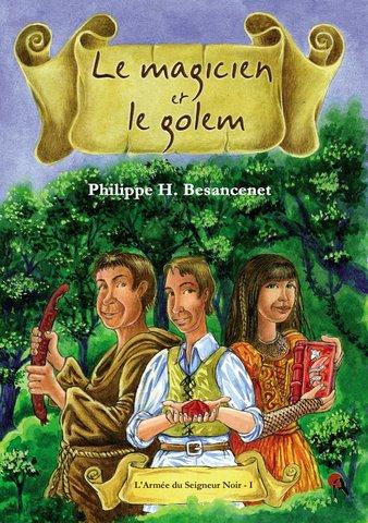 Le magicien et le golem  1couv_magicien_golem