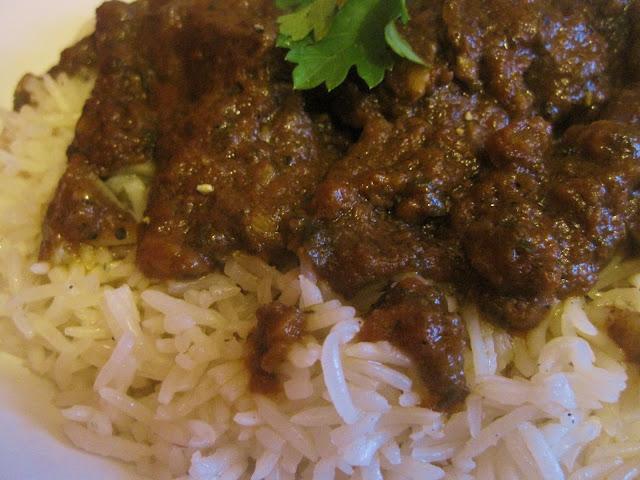 Spicy Moroccan Rice with Tomatoes / Riz cuit  à  la marocaine bien épicé 03