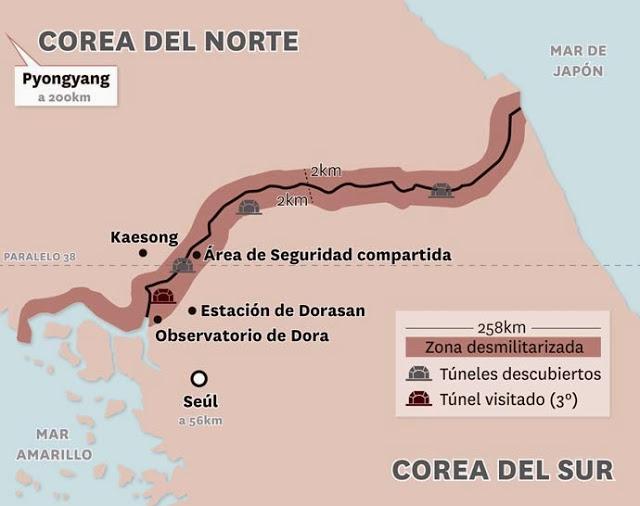Corea - Corea del Norte - Página 3 Mapa.-frontera01
