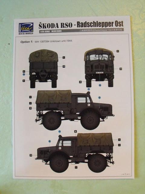 Skoda RSO-Radschlepper Ost au 1/35 de chez Riich model. DSCF2869