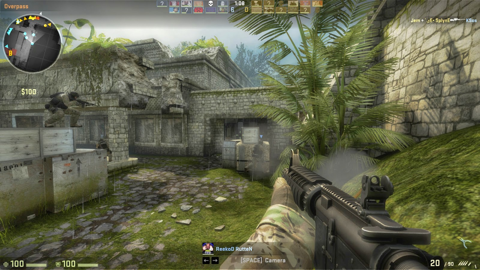 تحميل لعبة الأكشن و الإثارة Counter-Strike Global Offensive Csgo-2