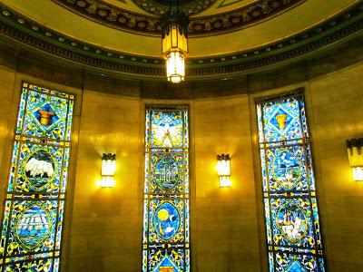 Freemasons' Hall, The United Grand Lodge of England Freemason_stained_glass