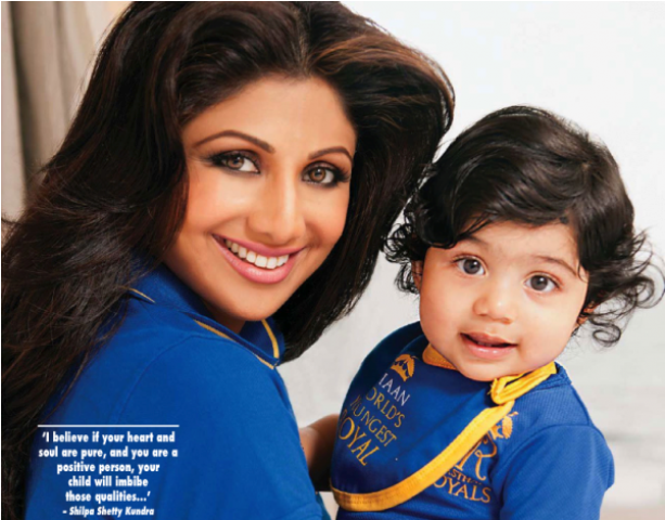 Shilpa Shetty's Photoshoot with her son Viaan Kundra! Shilpa-shetty-and-viaan-kundras-adorable-photoshoot-hello-india-cute-mom