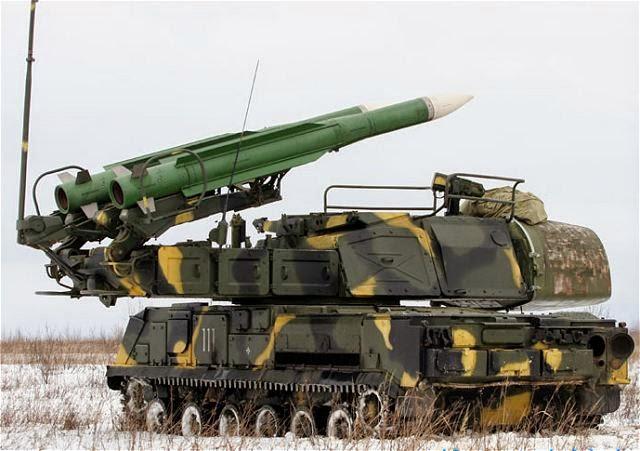 100 años de la defensa antiaérea rusa 9K37%2BBUK-M1%2BSA-11%2BGadf
