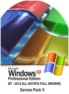 Windows Xpbt SP3 – 2012 All Hotfix Full Drivers 58