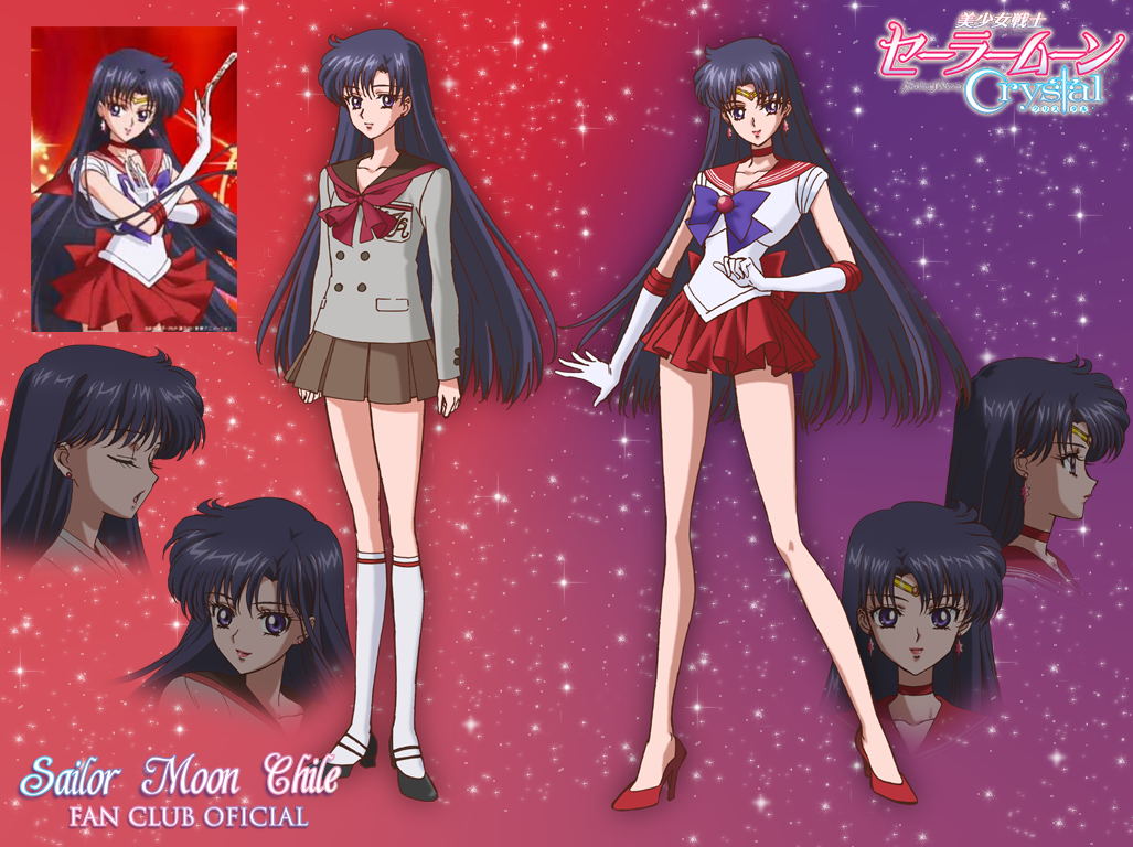 Galeria Sailor Moon Crystal Rei