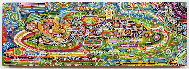 This is What Happens When an Artist Suffers Cancer of the Pineal Gland  Thorntonufo