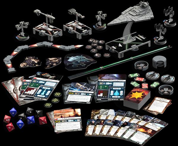 Star Wars Armada. ArmadaGamePlayLayout